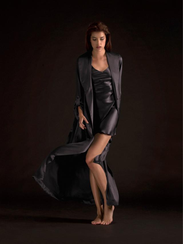 Floor Length Silk Ro#AD8202
