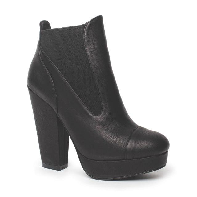 Madisyn Boot black $69-99, February 2013