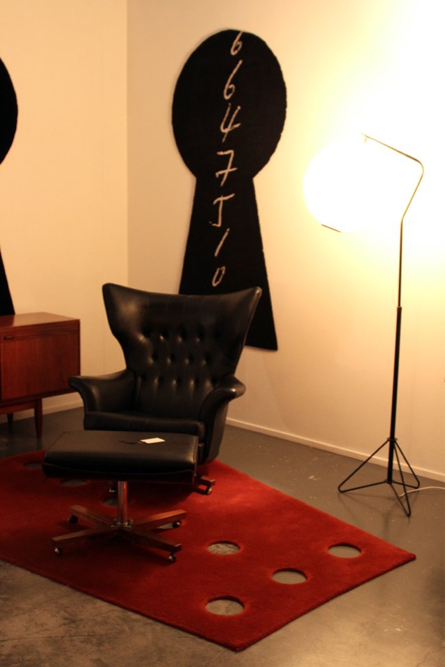 G Plan Chair and footstool