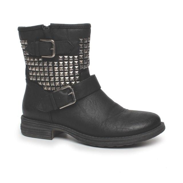 Quinn Boot black $69-99, February 2013