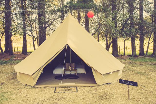 Wildernest - Outside tent