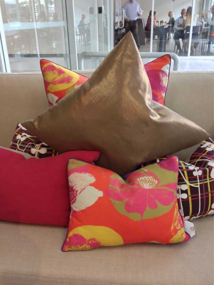 bronze cushion M&R
