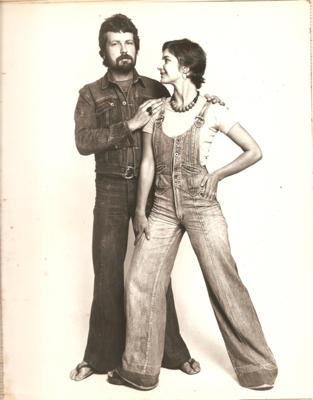 70's New Zealand label BLACK SHEEP - modelled by dancer Mary-Jane and Phil O'Reilly