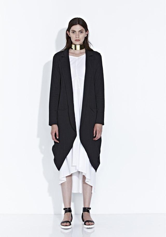 Shadow Dress and Kyoto Cardigan